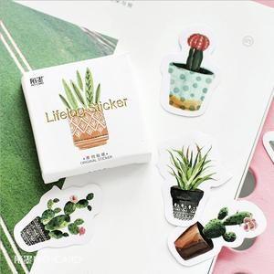 Little Cactus Stickers! – ArtTik