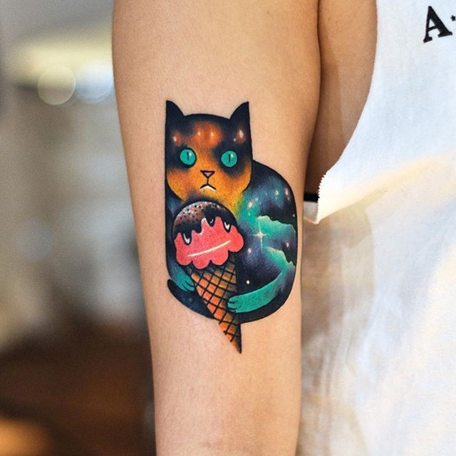TATTOO INSPIRATION BY @rainbowgored