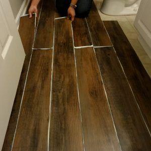 Peel And Stick Wood Floor Planks