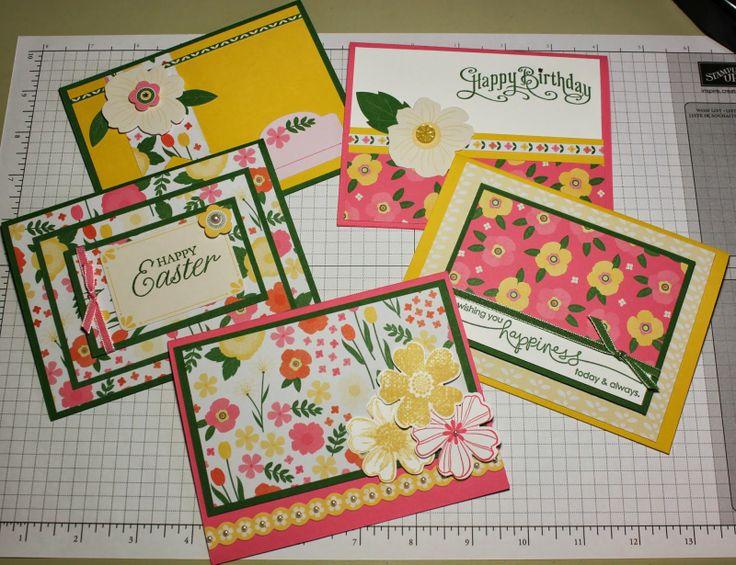 Stacy's Stampin' Spot: Stampin' Up! Flower Fair Kit Card Set