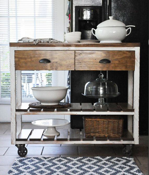 Industrial Rolling Kitchen Cart: Best 25+ Industrial Kitchen Island Ideas On Pinterest