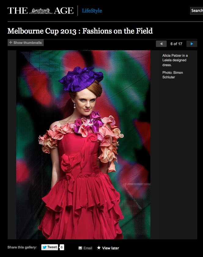 Featured in the Age, 2013