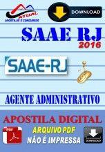 Apostila Digital Concurso Prefeitura de Barra Mansa SAAE RJ Agente de Saneamento 2016
