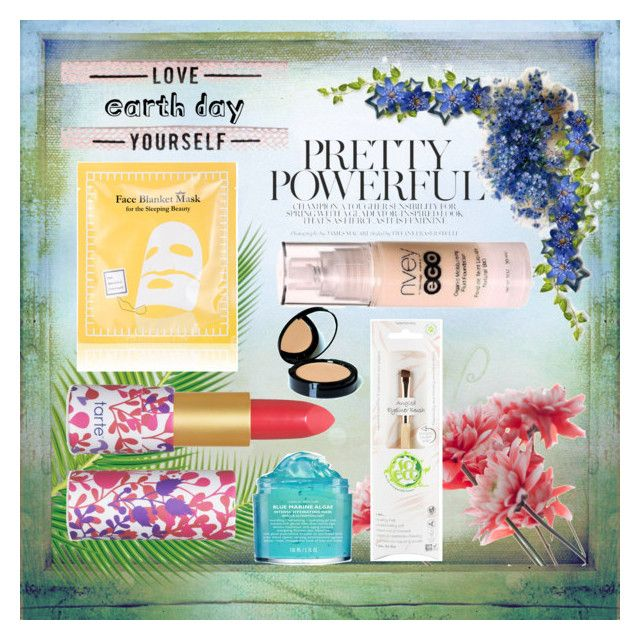 """EARTH DAY"" by egaemgyu on Polyvore featuring beauty, Peter Thomas Roth, tarte, Nvey Eco, Peach & Lily and earthday"