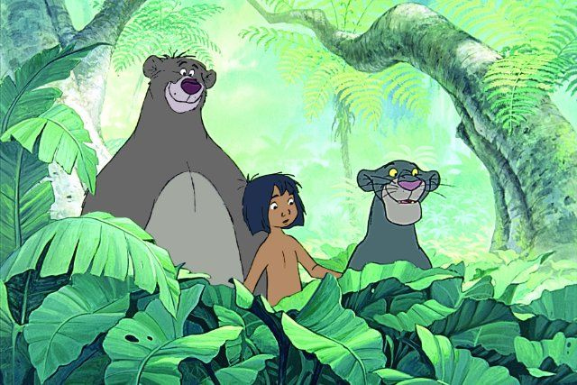 The Jungle Book- amazing songs. Always switch it off before the end though, when it goes all soppy.