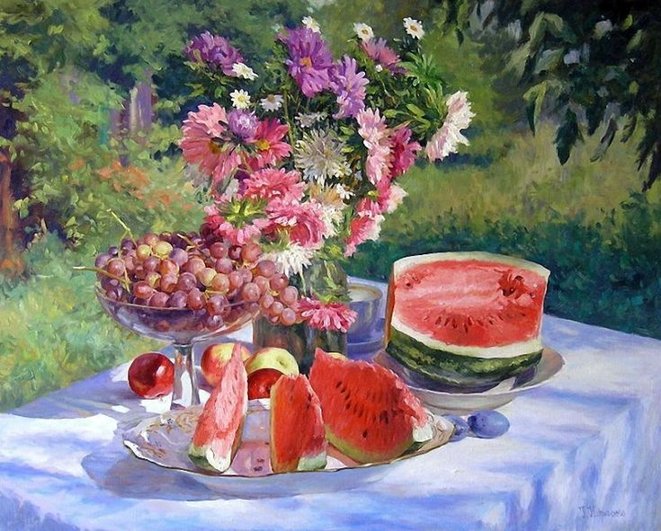 Still Life sunny summer / Gennady Kirichenko. Discussion on LiveInternet - Russian Service Online Diaries