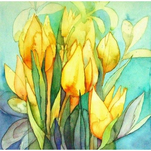 Yellow Tulips ~ artist: Chris Wilmshurst