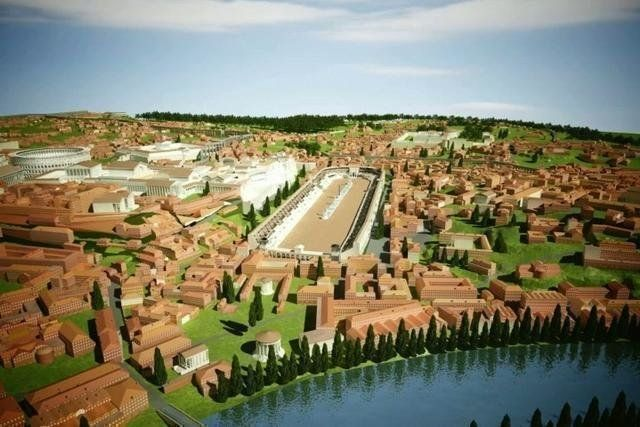 Take a tour through ancient Rome and see what it would have looked like during the years of the late Empire (circa 320 C.E.). This video was produced by the Khan Academy in conjunction with the Rome Reborn project at the University of Virginia.