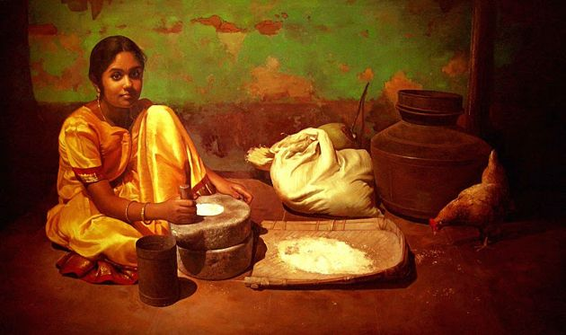 Amazing Oil Painting by South Indian Legend Ilaiyaraaja (22)