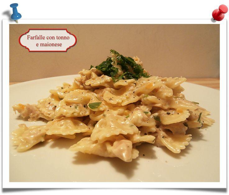 Imparare l'Arte della Cucina Quotidiana: Farfalle, tonno e maionese
