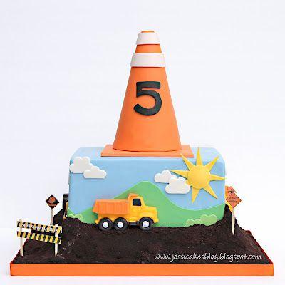 Construction Cake Ideas