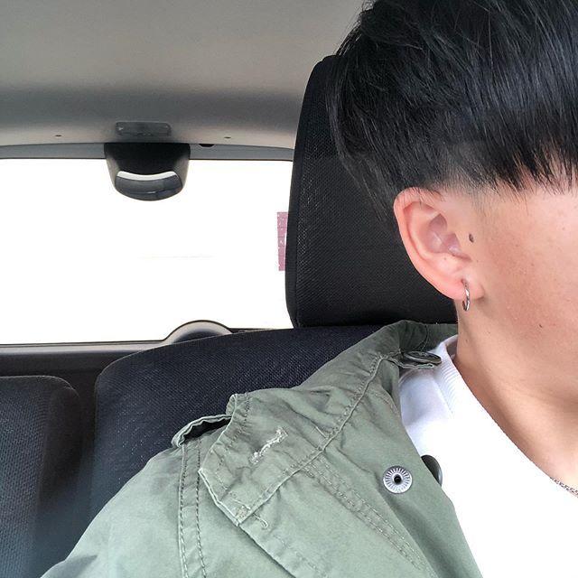 ツーブロ短髪