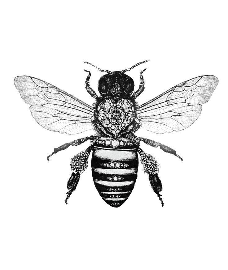 graphic-bee-tattoo-x2.jpg (910×1080 – Pinmode