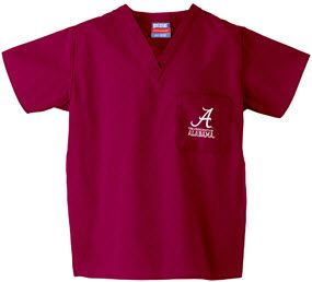 17 Best Images About University Of Alabama Scrubs On