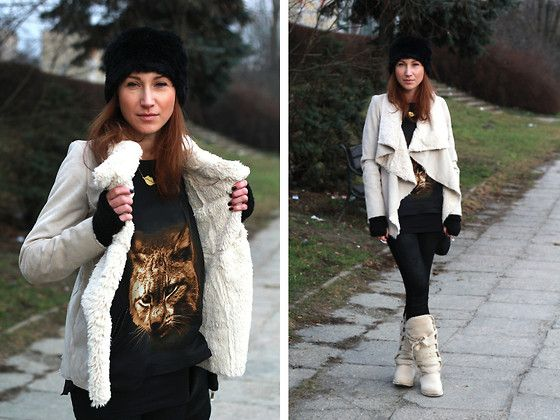 The LYNX (by Nina Dunin) http://lookbook.nu/look/4462565-The-LYNX