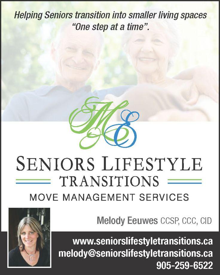 Senior Lifestyle Transitions Ad Design