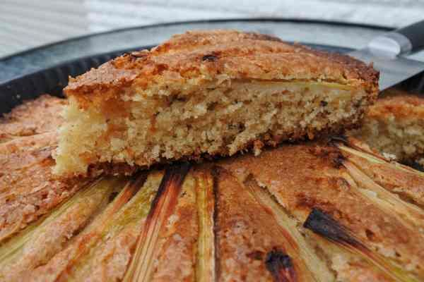Идеальный пирог с ревенем - блог Оксаны Путан