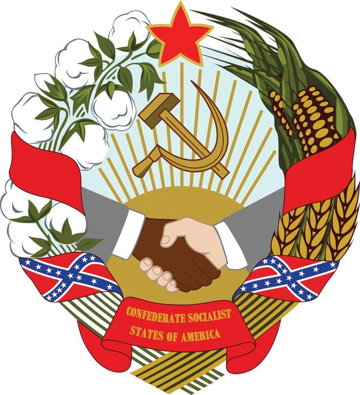 The Confederate Socialist States of America by Regicollis on DeviantArt