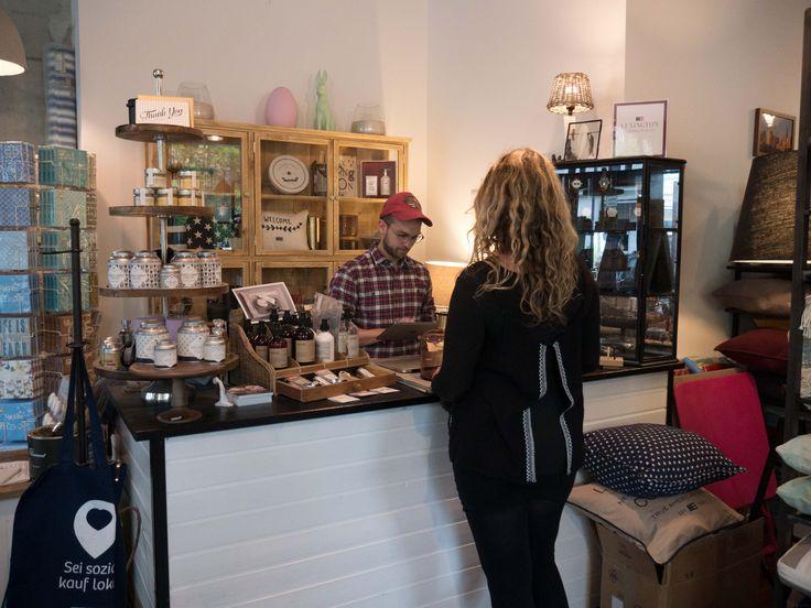 Einzelhandel Geschäft für Lifestyle und Interior Dekoration in Berlin: Kassenbereich