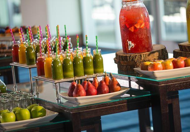 Meeting break - fruit, juice and smoothie break