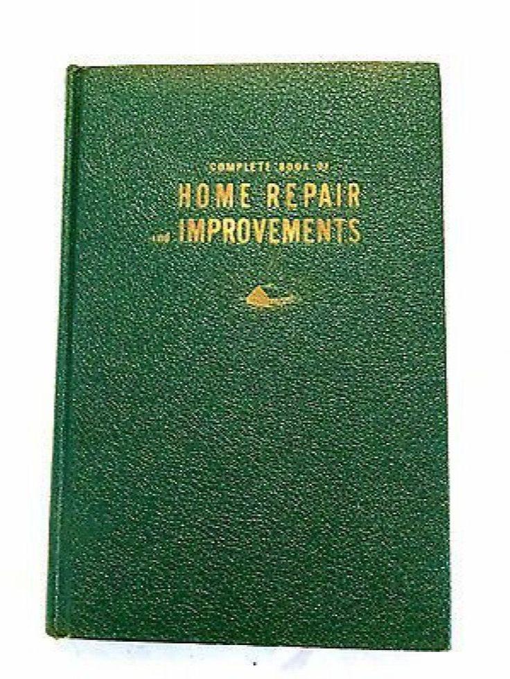 Mr Fix-It Complete Book of Home Repair Improvements Popular Mechanics 1949
