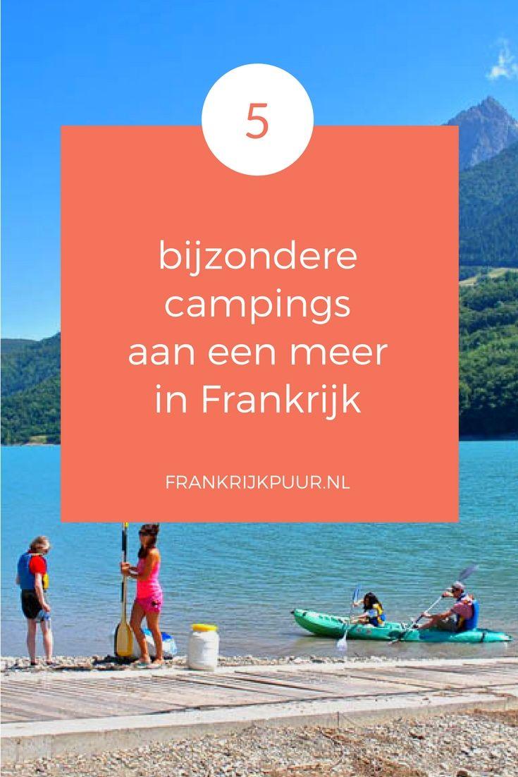 FrankrijkPuur.nl | 5 bijzondere campings aan een meer in Frankrijk | frankrijkpuur.nl | Foto: Camping Lac du Sautet