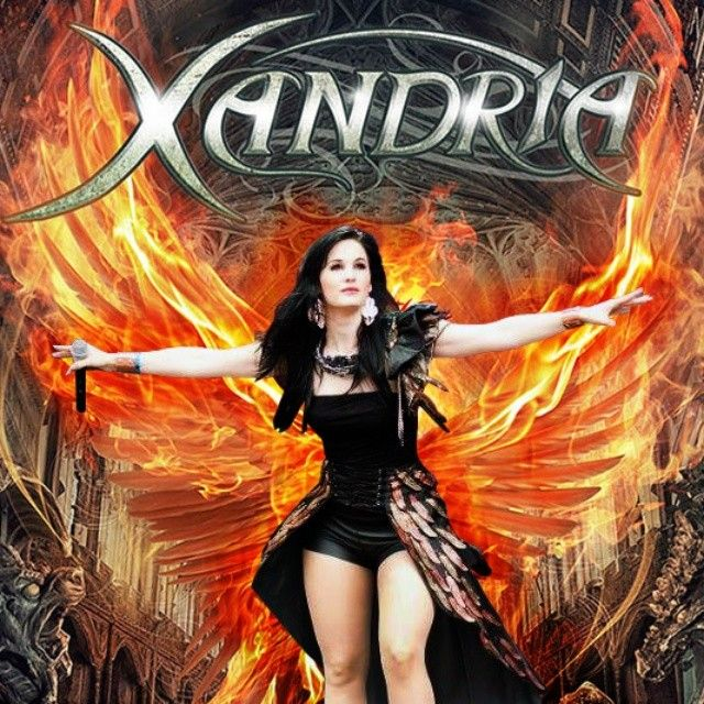 The most beautiful Phoenix of the band Xandria: Dianne van Giersbergen..!