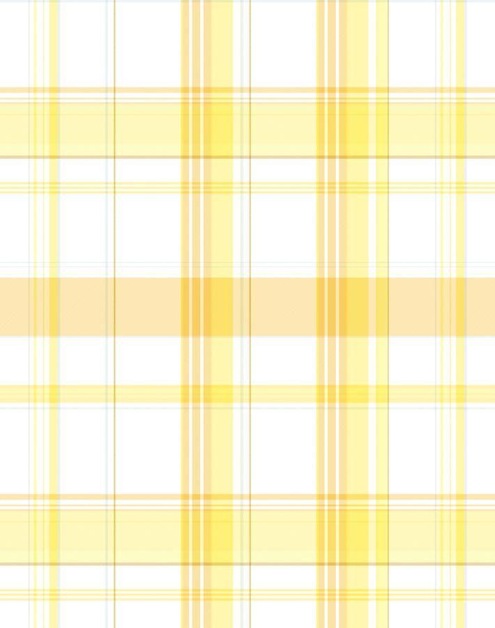 Sofia Plaid Wallpaper By Wallshoppe Yellow In 2021 Yellow Aesthetic Pastel Yellow Aesthetic Yellow Wallpaper