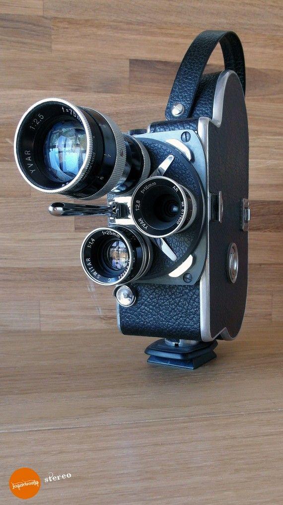 Paillard Bolex H16 T, high quality 16mm camera