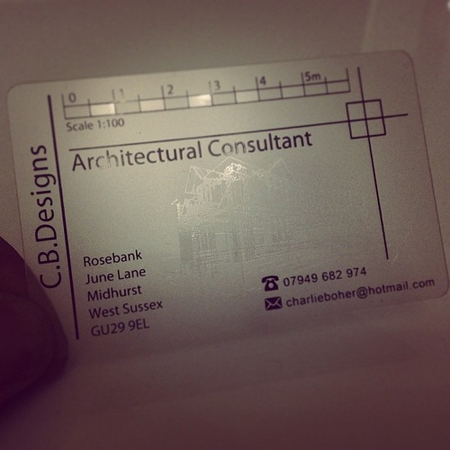 watermark business cards