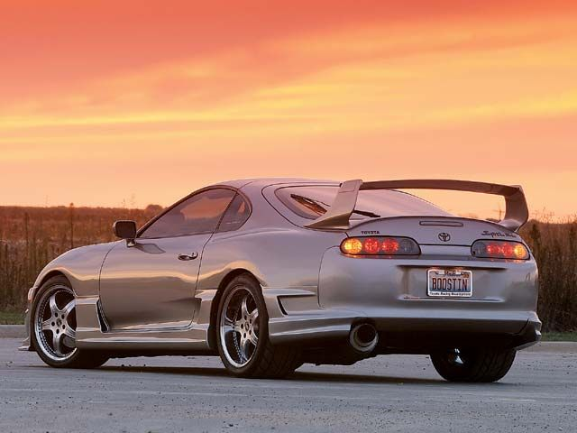 Captivating Toyota Supra. This Had Been My Dream Car Since I Was A Little Girl!