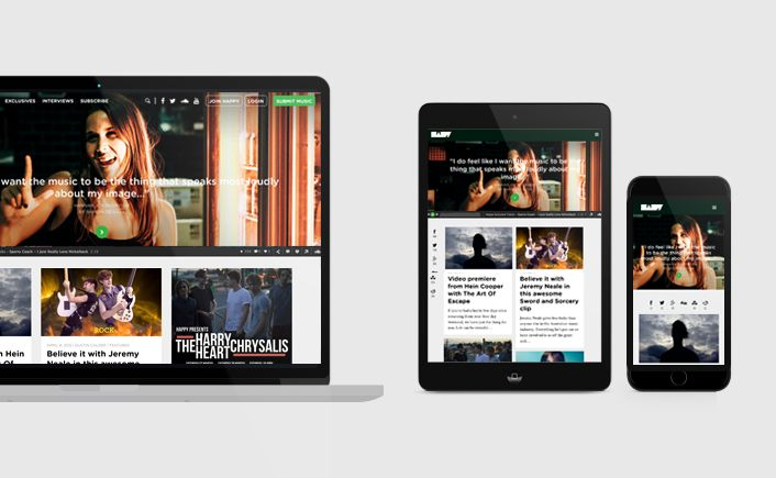 Happy's new website (Happy 2.0) heralds a new chapter with emphasis on user experience and audience engagement  http://ifyoubuildit.com.au/2015/04/happy-2-0-music-blog-digital-strategy-and-web-design/  #happy #webdesign #music #iybi