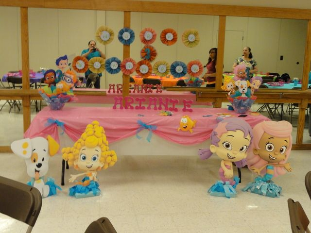 Birthday party ideas bubble guppies the o 39 jays and birthdays - Bubble guppies bedroom decor ...