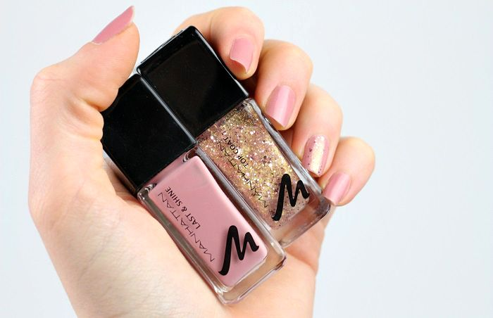 Manhattan Sparkling Nude Top Coat