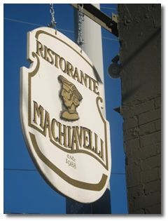Machiavelli's Restaurant Seattle - Location and How to Get Here