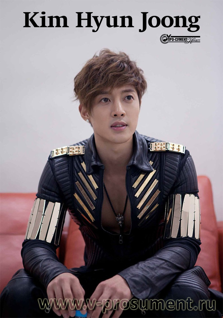Kim Hyun Joong in Breakdown suit (hot)