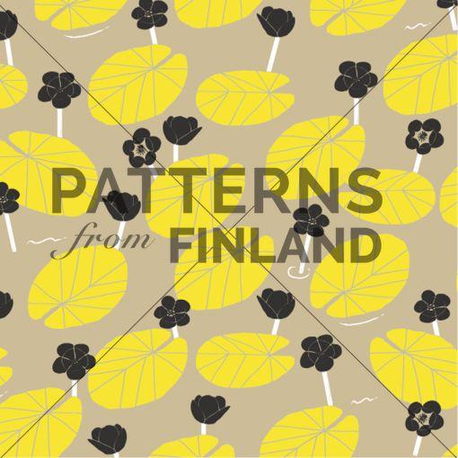Tanja Kallio: Suvi – Ulpukka #patternsfromagency #patternsfromfinland #pattern #patterndesign #surfacedesign #printdesign #tanjakallio