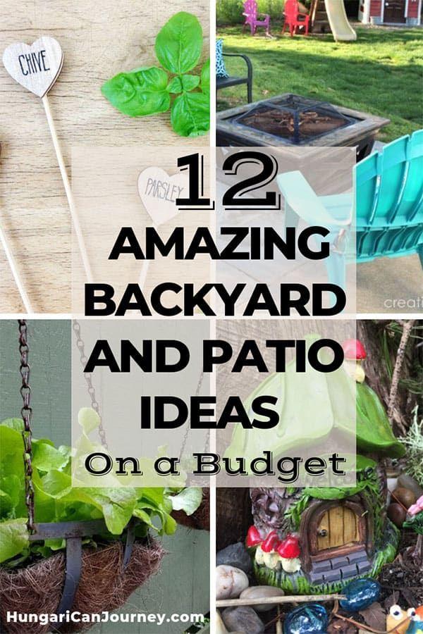 budget backyard outdoor patio decor