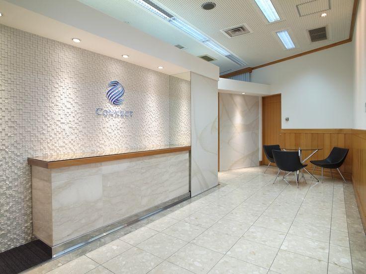 オフィスデザイン実績~グラフィックウォールが織りなすラグジュアリー空間
