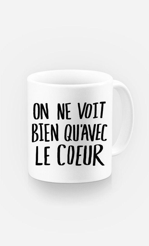 Mug Avec Le Coeur par Leah Flores - Wooop.fr