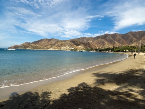 Beach at Taganga, Colombia, South America
