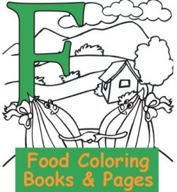 Favorite Foods Coloring Pages