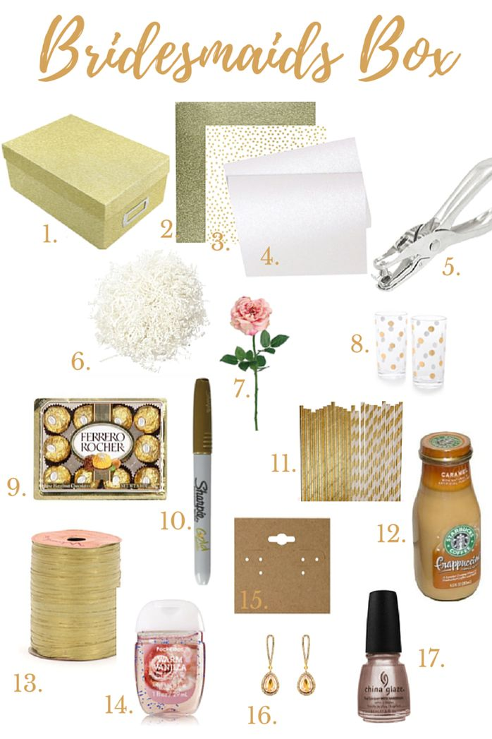 Bridesmaids Box                                                       …                                                                                                                                                                                 More