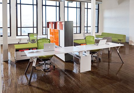 21 Best Teknion Desking Systems Images On Pinterest Office Spaces Bureaus And Corporate Offices