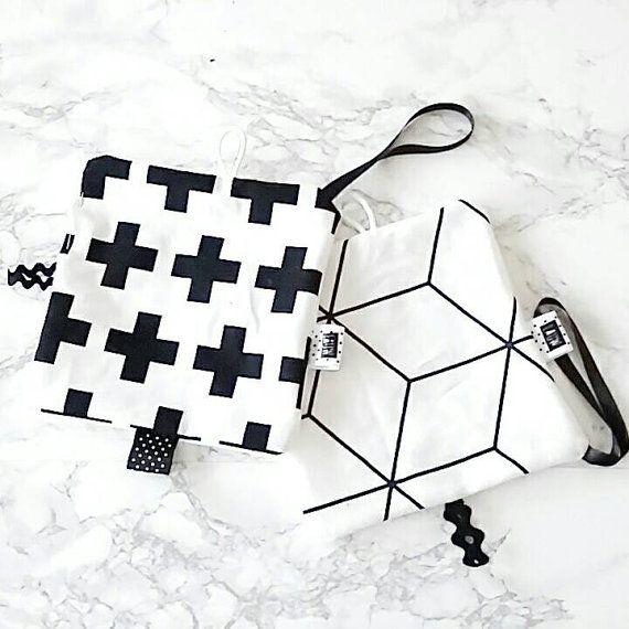 Speendoekje plus of cube by LauwDesign on Etsy