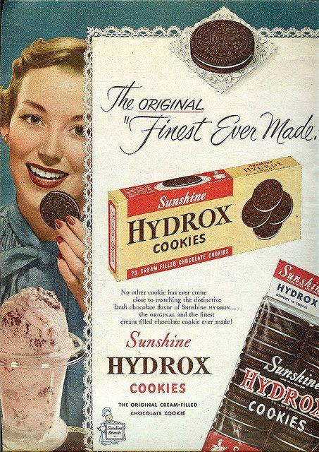 Hydrox Cookies - 1951