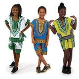 Traditional Children's African Clothing 4