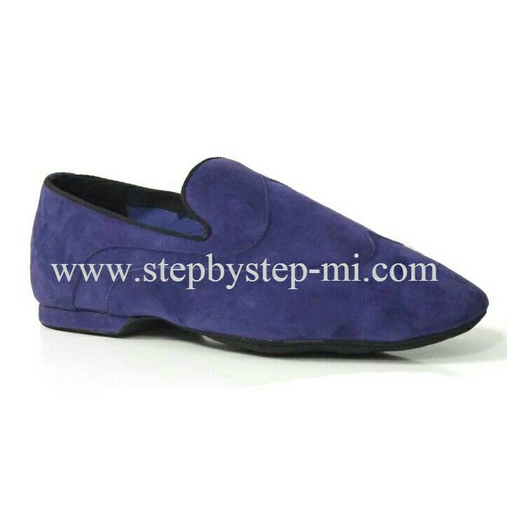 Mocassino superflex in camoscio viola #stepbystep  #ballo #salsa #tango #kizomba #bachata #scarpedaballo #danceshoes #suede #viola #purple #superflex #pachanga