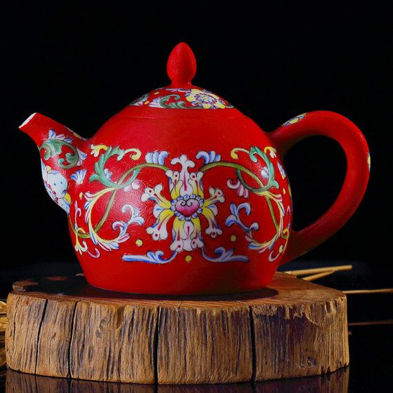 Imitative Antique Style handmade porcelain teapot is a available in our etsy shop.