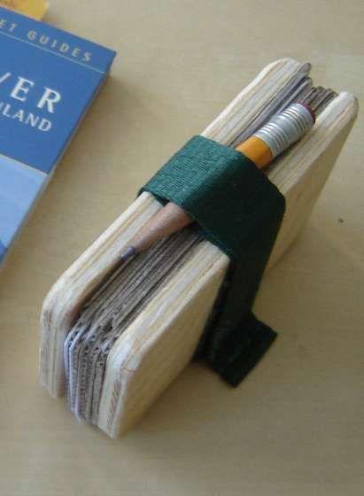 Pocket Flower Press. Great for nature walks so you can preserve a leaf or flower before it gets damaged.